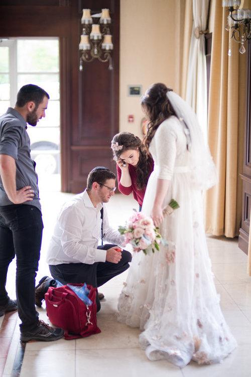 Lakewood, New Jersey, Jewish Wedding, BTS, Photo of Chaim Schvarcz