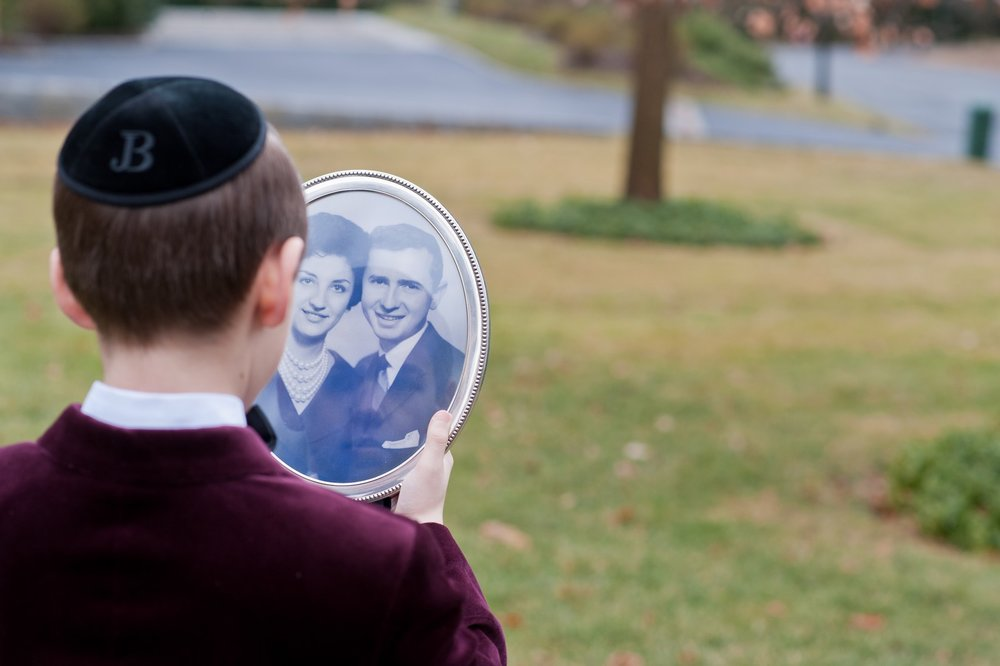 Joseph Berger's Bar Mitzvah at Young Israel of New Rochelle, New Rochelle NY, Photos by Chaim Schvarcz, portraits, family