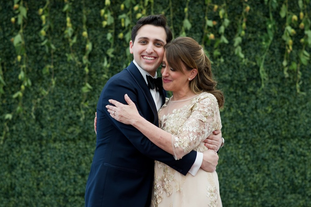 Abby and Miles' Modern Jewish Wedding at Nicotra's Ballroom, Hilton Garden Inn, Staten Island, NY, Photos by Chaim Schvarcz portraits mother of the groom