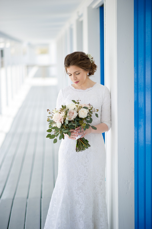 Danna and Eitan's Modern Orthodox Jewish Wedding at The Sands, Atlantic Beach, NY Photos by Chaim Schvarcz bride portraits