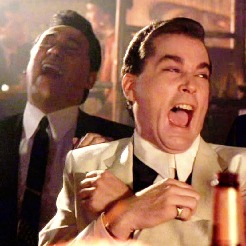 """""""You're drinking what?!"""" - Ray Liotta:Famous Drinker, Man About Town"""