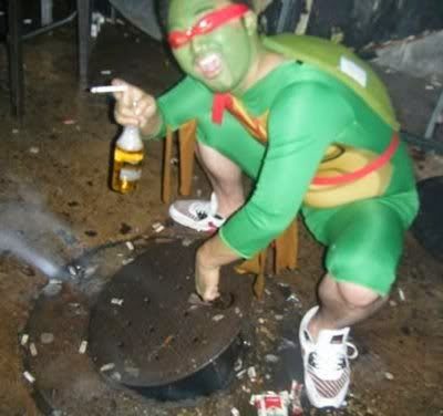 Entering manholes was how Raphael put himself through college.