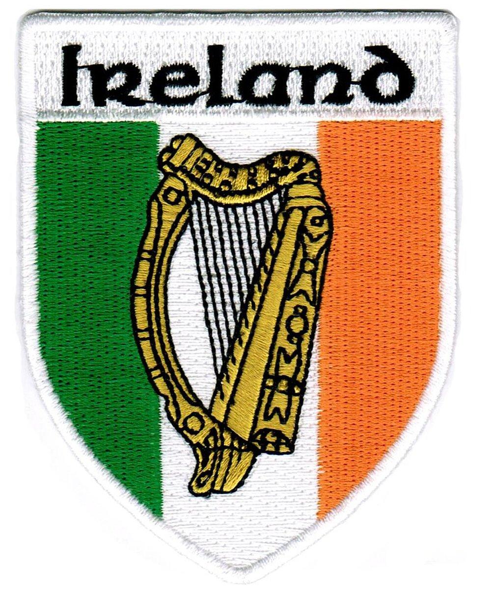 The Irish harp