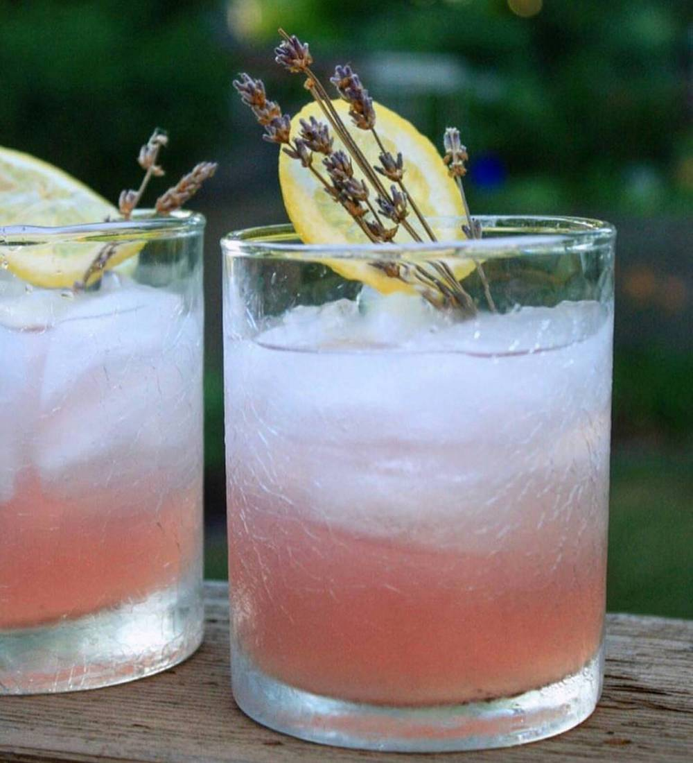 Lavender Tom Collins - ginandtonicdelivery