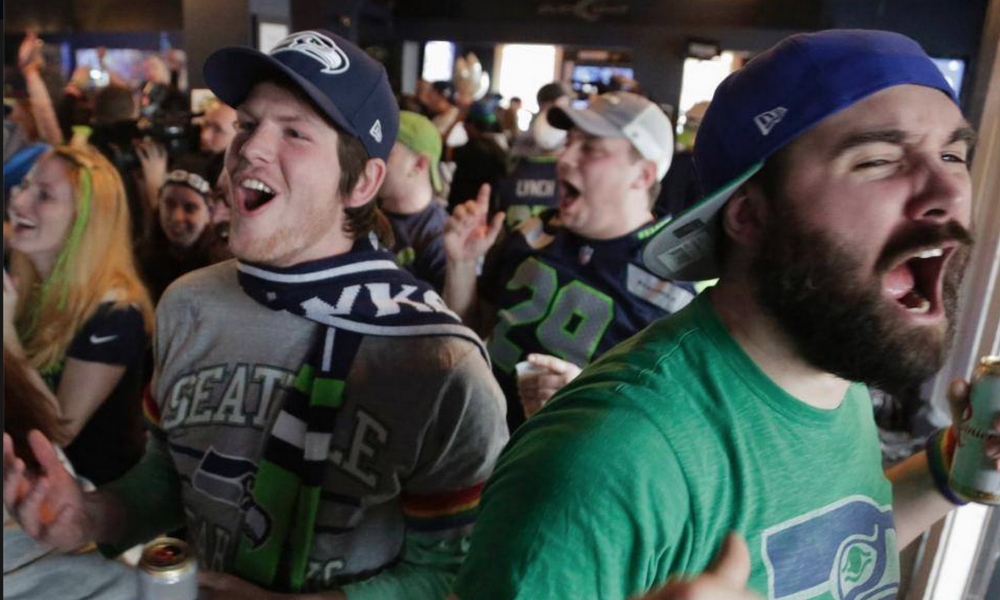 We became a 12th Man as soon as the Seahawks went to the Super Bowl!