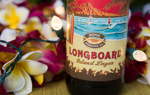 Are you telling me this beer wasn't made with real longboards? See you in court, pal.