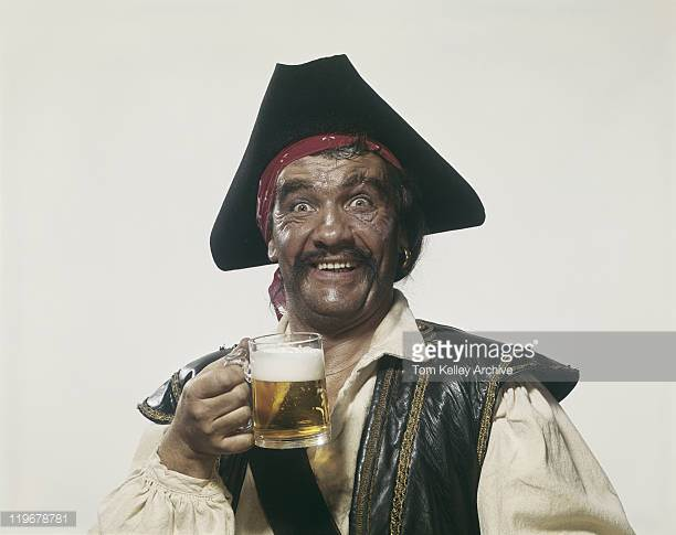 Yarrrr! A toast to Tom Kelley and Getty Images!