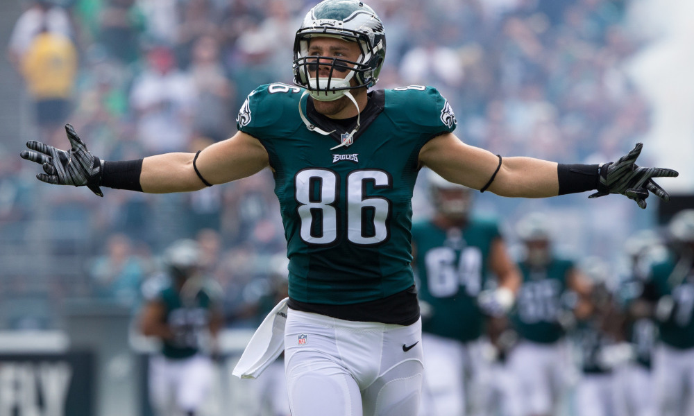 zachertz - TE - Philadelphia Eagles