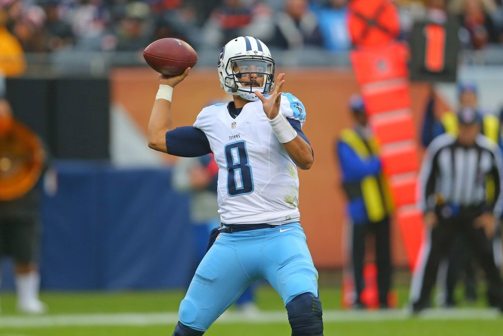 MarcusMariota - QB - TEN (at CLE)