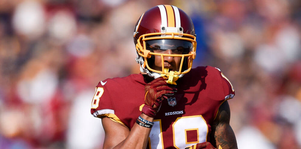 JoshDoctson - WR - WAS @ LAC