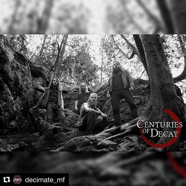 @centuriesofdecay are hitting the road and heading out west to play @decimate_mf !  #Repost @decimate_mf with @get_repost ・・・ Decimate - Music Festival ANNOUNCES 2018 Wacken Metal Battle Canada winners, @centuriesofdecay ! (Toronto, Ontario)  Advance weekend passes available now at: https://www.showpass.com/decimate-metalfest-20-2019/  Event Links:  Weekend: https://www.facebook.com/events/250031439030286/ Day 1: https://www.facebook.com/events/609210042841281/ Day 2: https://www.facebook.com/events/362197264331018/ Day 3: https://www.facebook.com/events/245099013080772/  ATTEND / SHARE / TAG A FRIEND / INVITE / SUPPORT YOUR SCENE!  Click the link below for full details!  #calgarymetalfestival #calgarymetal #decimateme #decimatemf #decimatemetalfestival #decimatemusicfestival #yyc #yycevents #yycnow #yyctoday #calgarymusic #calgaryevents #calgarymetalevents #canadiandeathmetsl #canadianmetal #calnadianmetalfestival