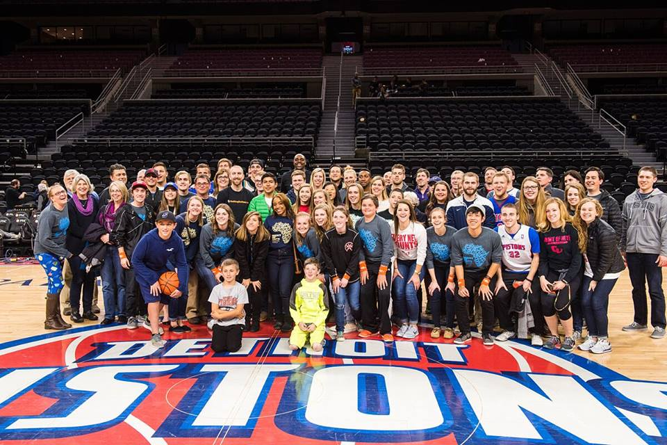 Detroit Pistons host Nothing But Nets Night