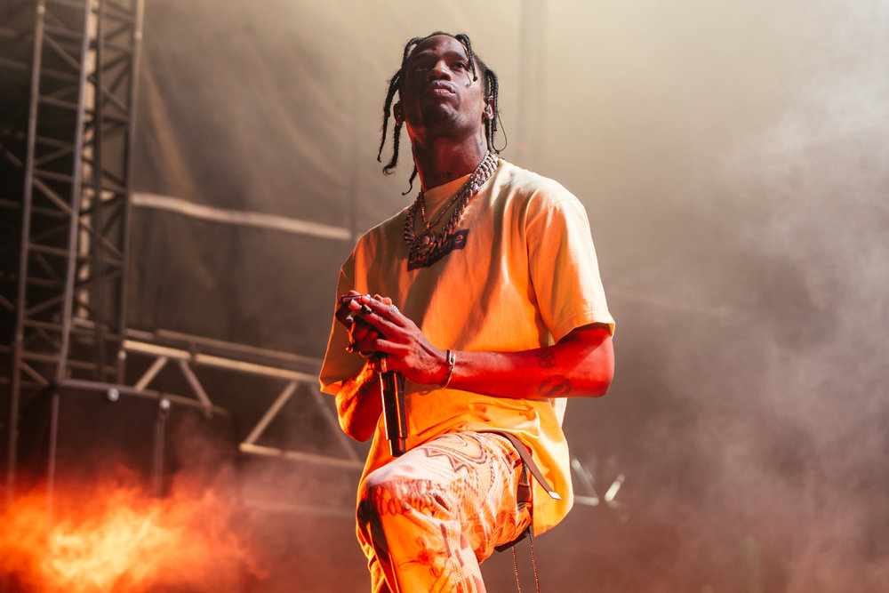 Travis Scott was a festival highlight.