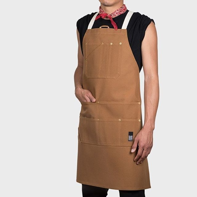Thanks for the quick photo shoot @tysonchickenbutt 😍. Utility Apron in Carhartt Brown. #blackhouseproject #apron #handmade #madeinsanfrancisco #utility #workshop #carhartt #photooftheday #followme #workinghard #fashionmen