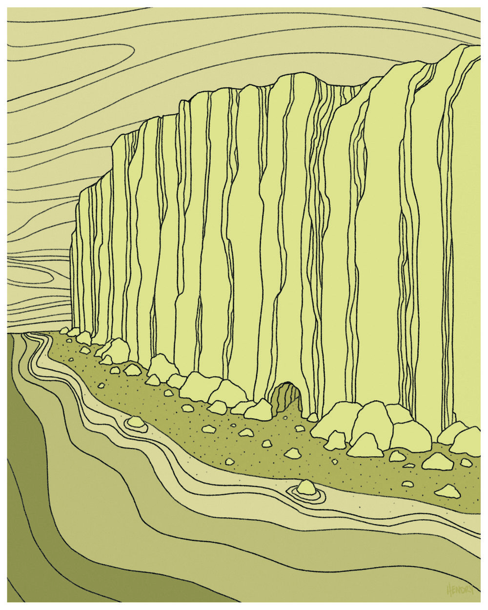 Landscapes: Cliffs