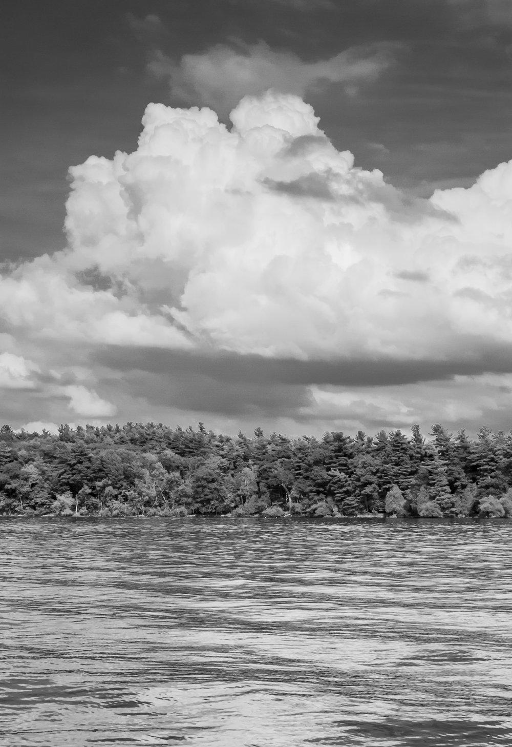Clouds Over Tar Island