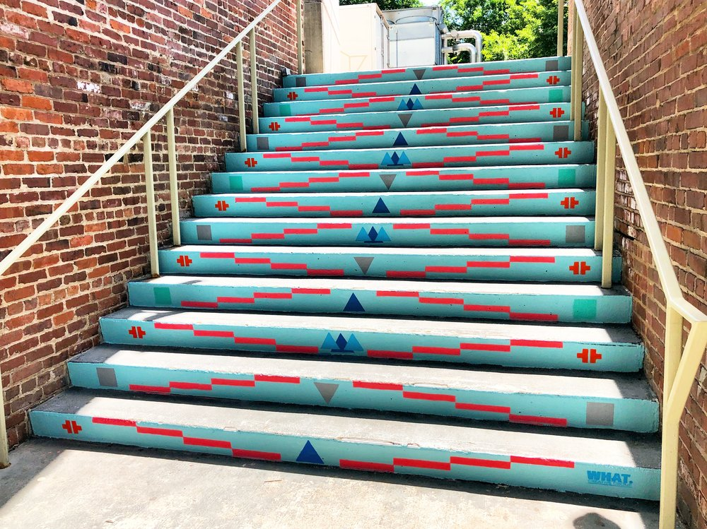 Gulch Stairs -  Located next to Urban Outfitters  Commissioned by Market Street Enterprises