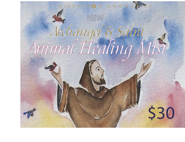 Archangel & Saint Animal Healing Mist - 60ml