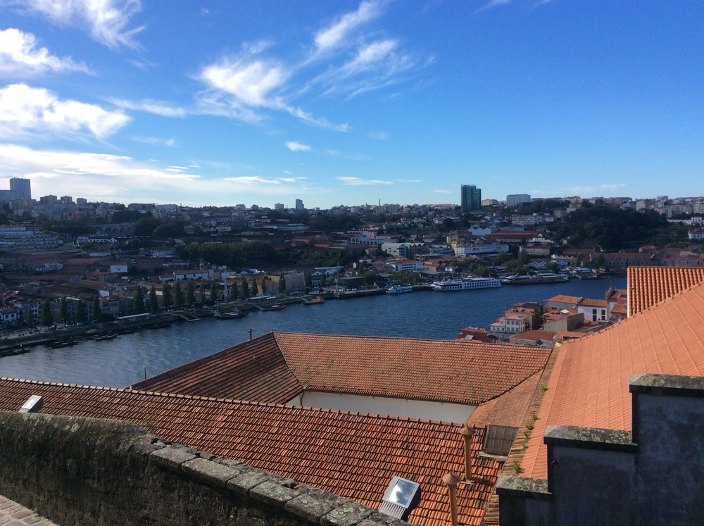 A view of Porto from Porto Cathedral