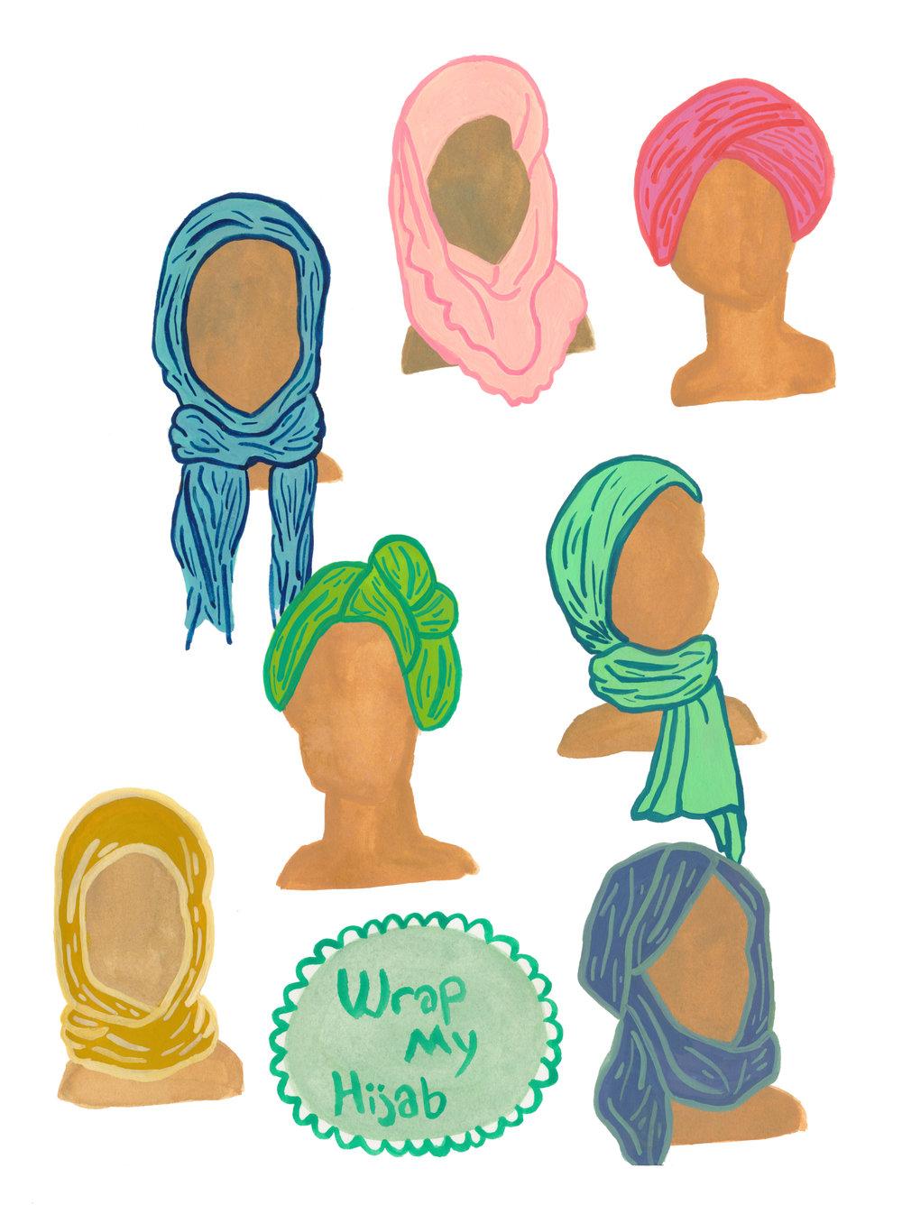 Wrap My Hijab