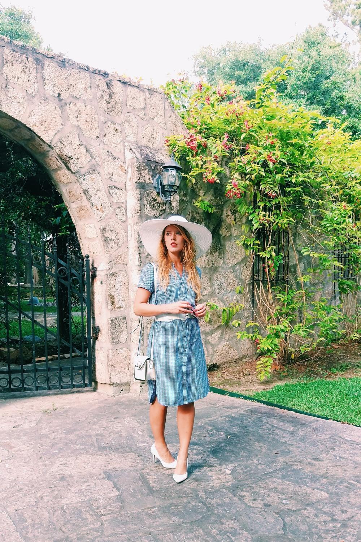 Gingham Shirtdress - Three Heel Clicks 6.jpg