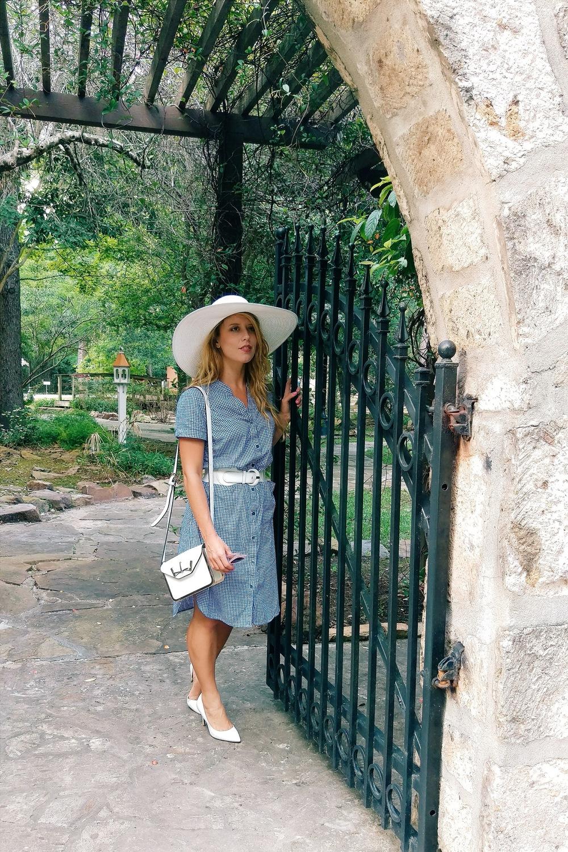 Gingham Shirtdress - Three Heel Clicks 11.jpg