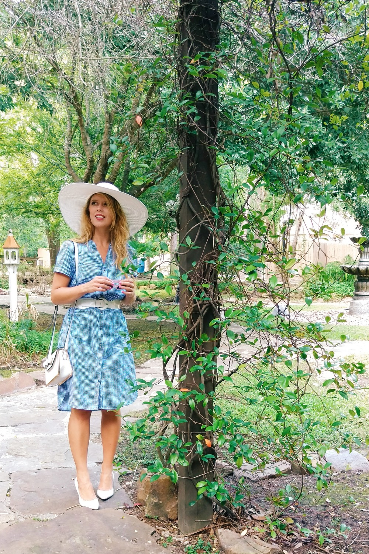 Gingham Shirtdress - Three Heel Clicks 13.jpg
