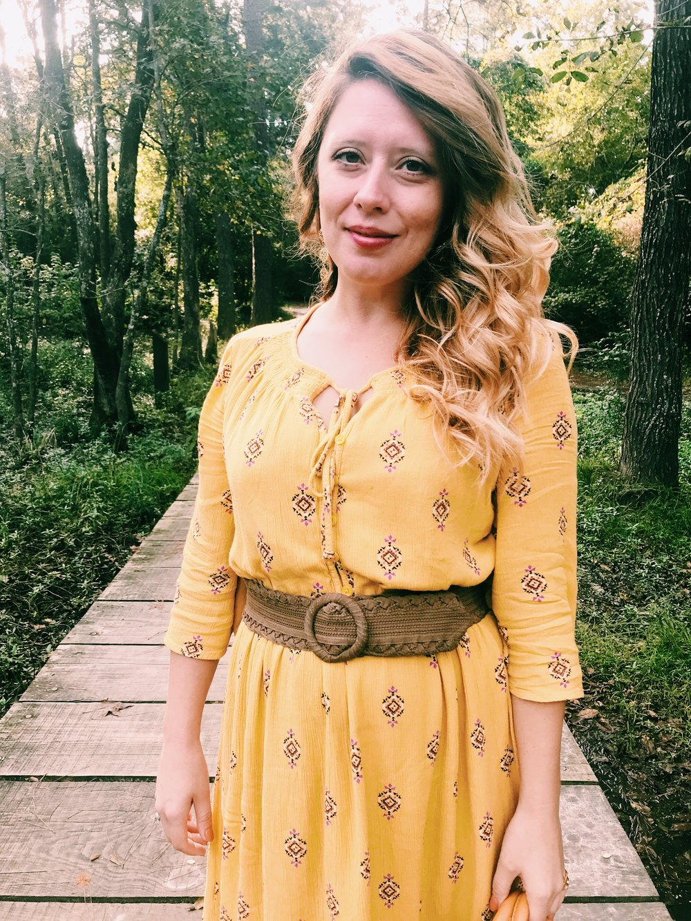 Three Heel Clicks - Mustard Dress at the Rainbow Lodge (17).jpg