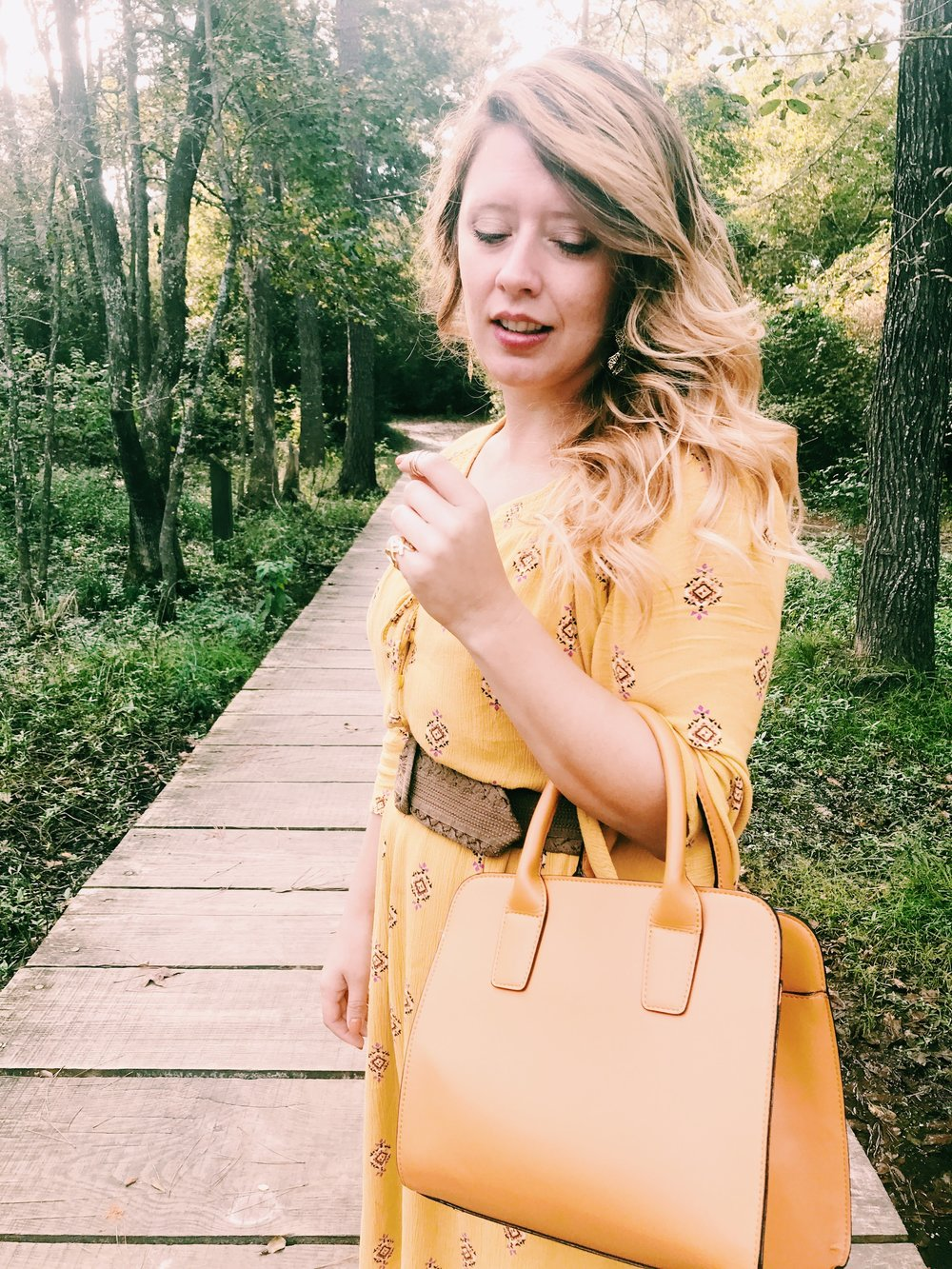Three Heel Clicks - Mustard Dress at the Rainbow Lodge (25).jpg