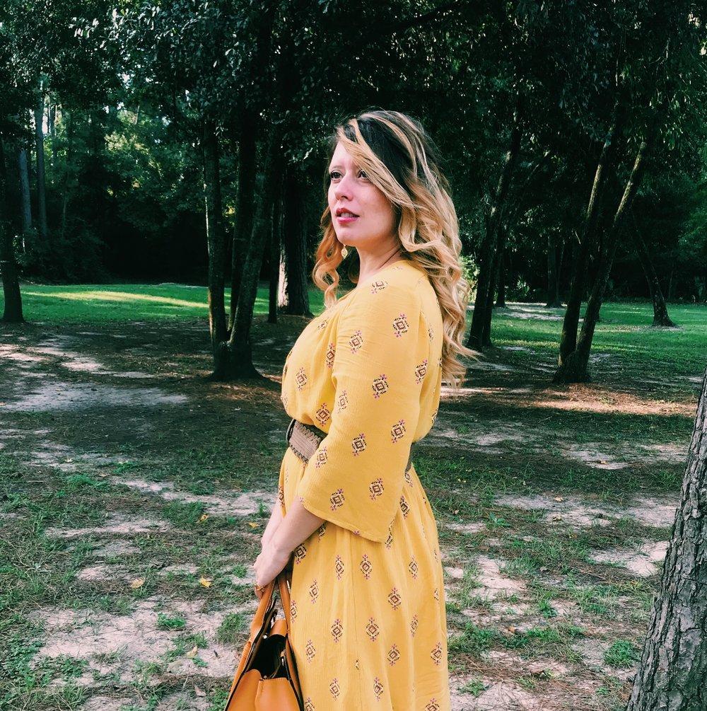 Three Heel Clicks - Mustard Dress at the Rainbow Lodge (32).jpg