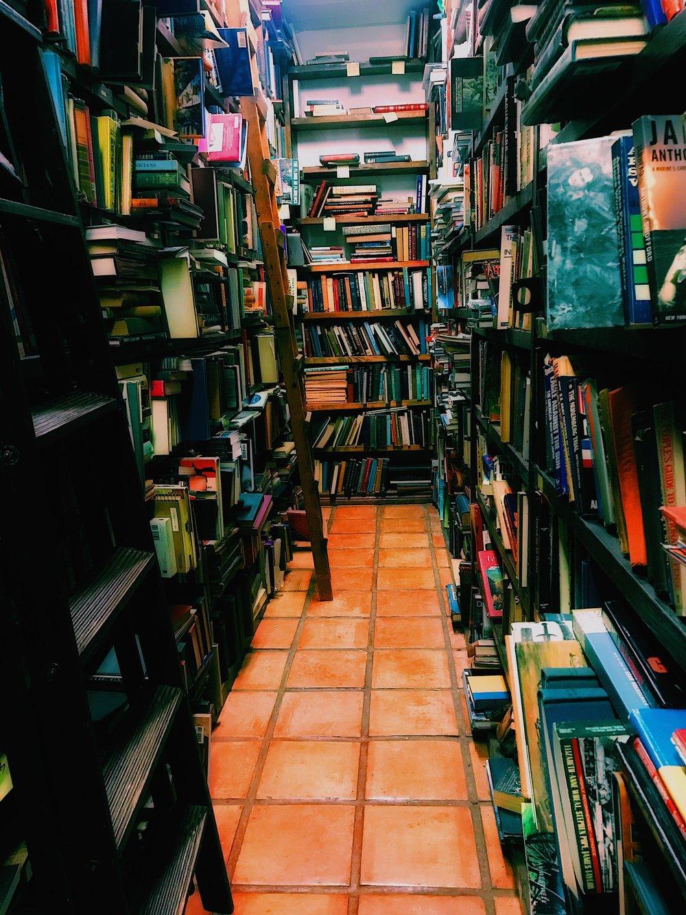 Three Heel Clicks - Houston Hotspots - Becker's Books (4).jpg