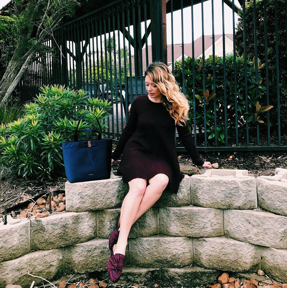Three Heel Clicks - Sweater Dress with Mules (10).jpg