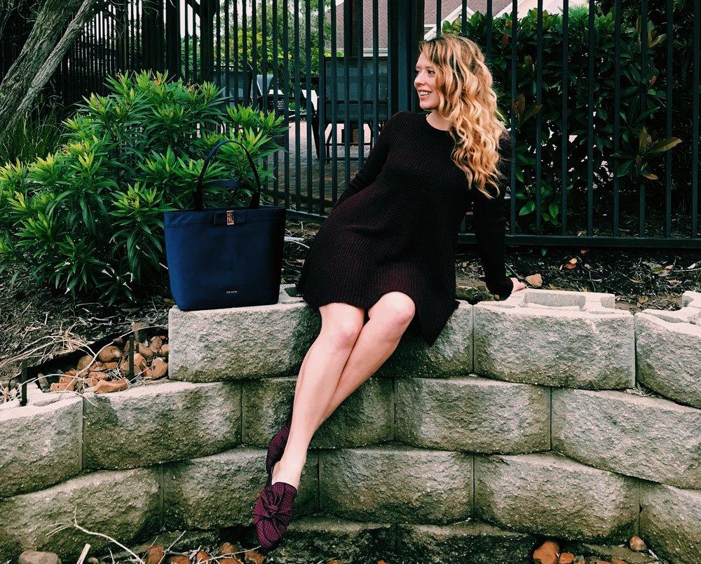 Three Heel Clicks - Sweater Dress with Mules (5).jpg