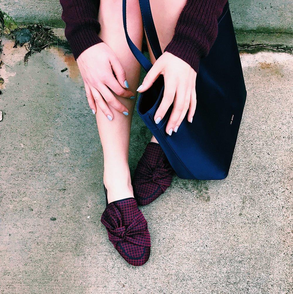Three Heel Clicks - Sweater Dress with Mules (3).jpg