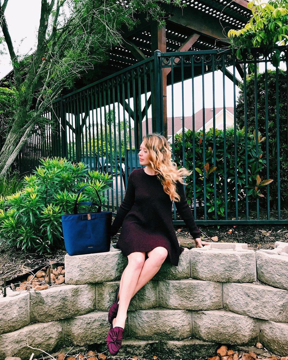 Three Heel Clicks - Sweater Dress with Mules (1).jpg