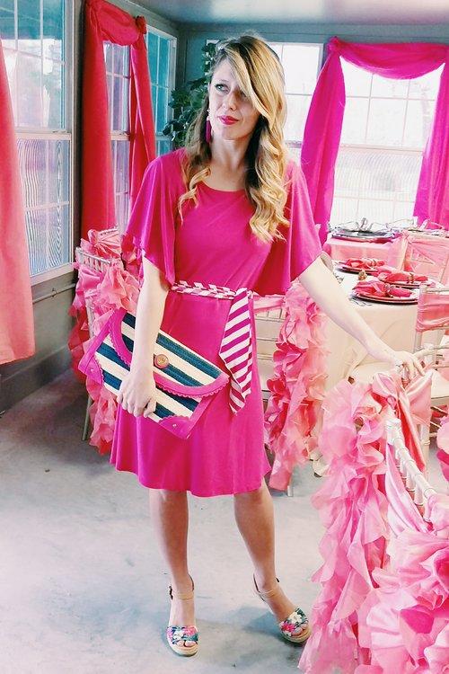 Three Heel Clicks - 5 on Fridays - Five Ways to Wear Hot Pink (8).jpg