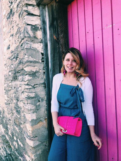 Three Heel Clicks - 5 on Fridays - Five Ways to Wear Hot Pink (2).jpg
