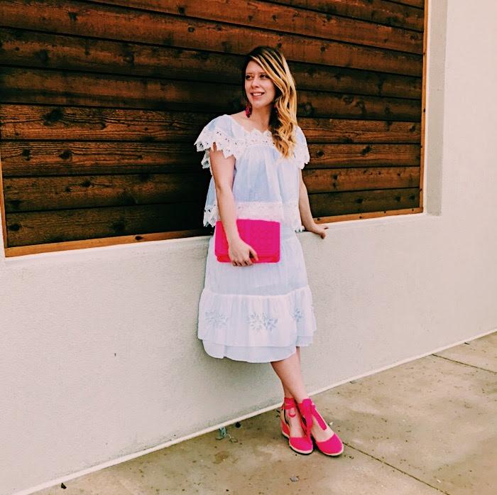 Three Heel Clicks - 5 on Fridays - Five Ways to Wear Hot Pink (4).jpg