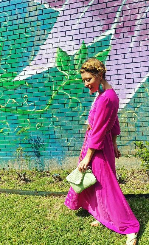 Three Heel Clicks - 5 on Fridays - Five Ways to Wear Hot Pink (5).jpg