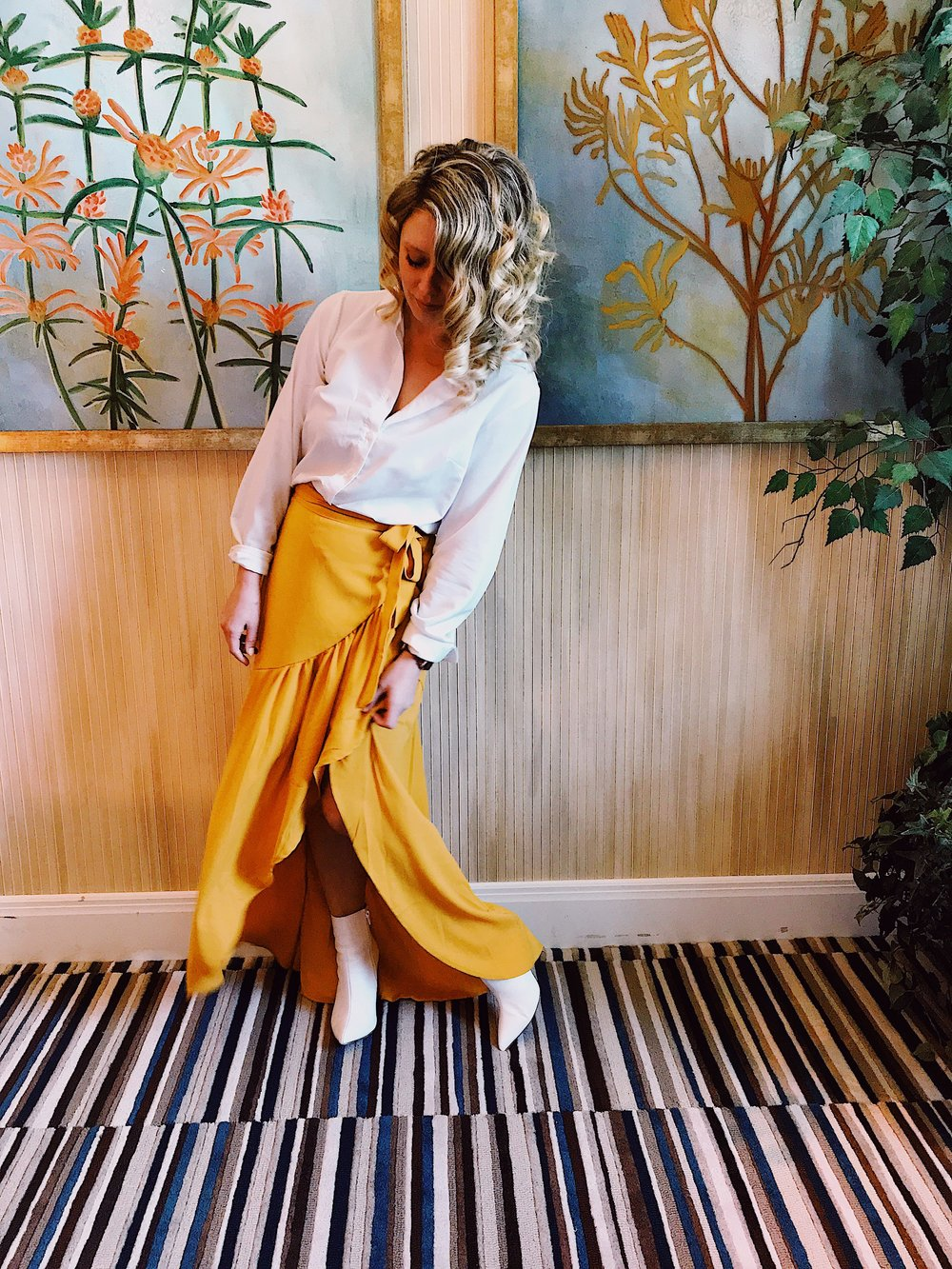 Three Heel Clicks - The Perfect Yellow Wrap Skirt for Spring (10).jpg
