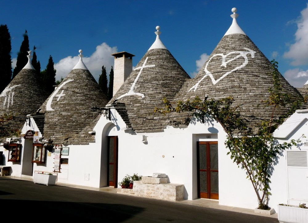 The Trulli in Alberobello seem straight out of a fairytale