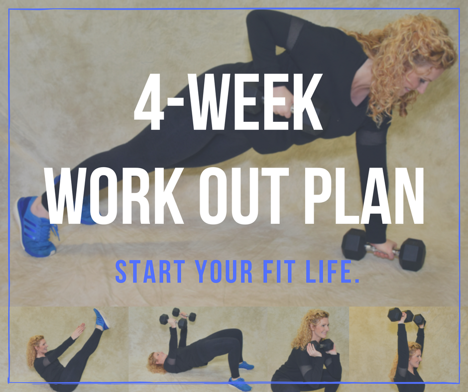 4 WEEK WORK OUT PLAN