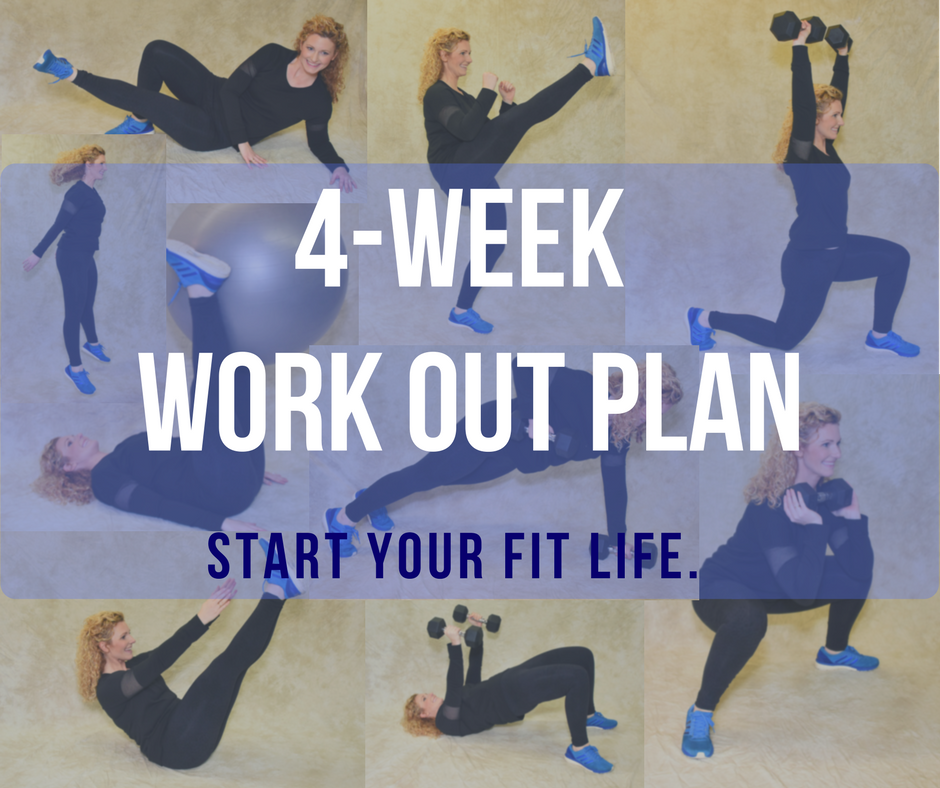 4-Week Workout Plan
