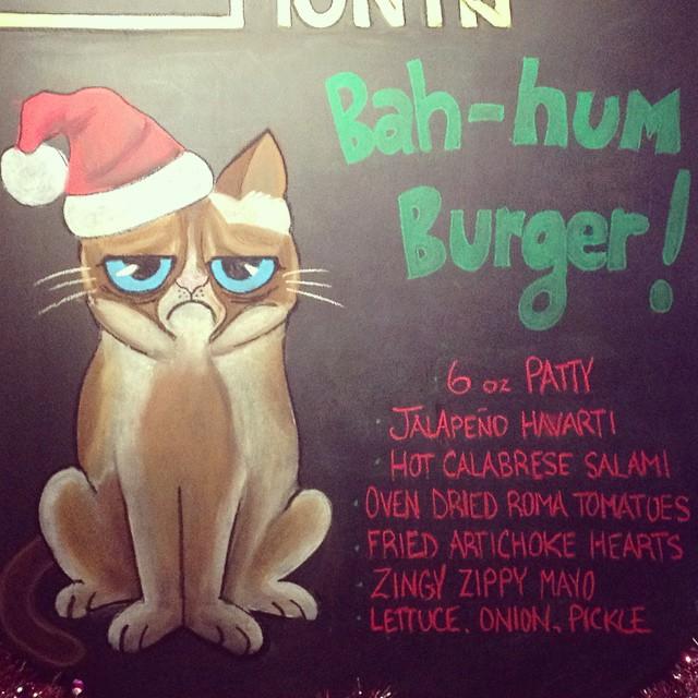 Bah-Hum Burger - Art