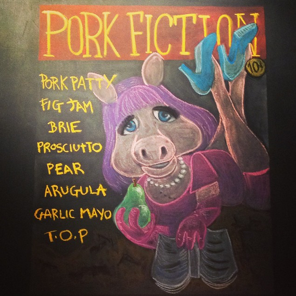 Pork Fiction - Art