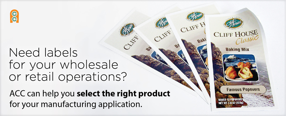 ACC label printing, brochure printing and more.
