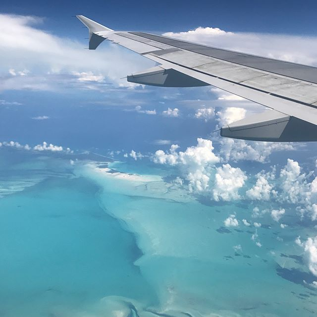 I got some pretty awesome wing shots on our way back to #puertorico today #jetblue #gratitude