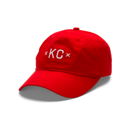 Made Urban Apparel KC Dad Hat - Red — Made in Kansas City ecab278de97