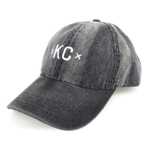 Made Urban Apparel KC Dad Hat - Black Denim — Made in Kansas City 5067c224469