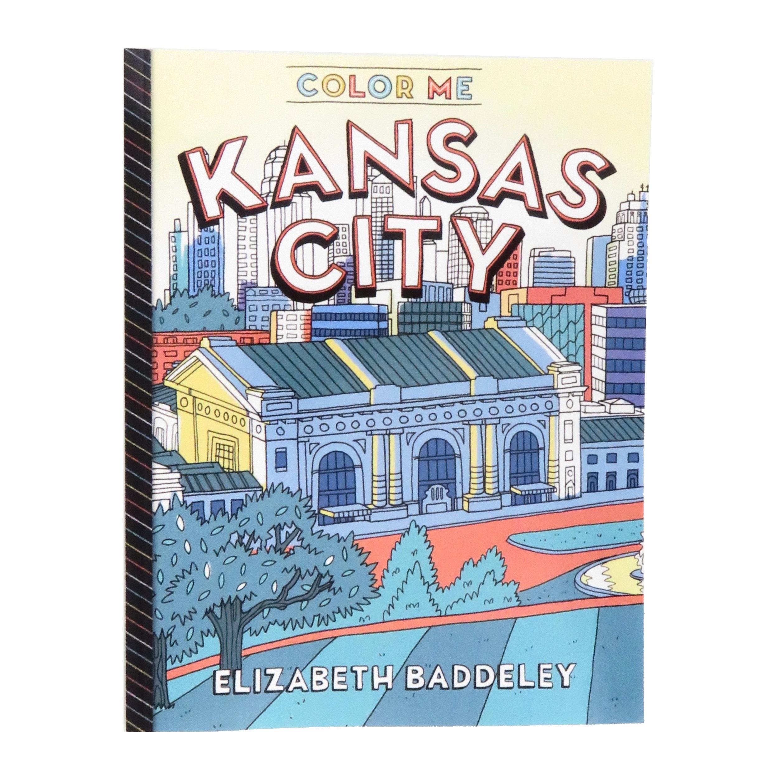 Elizabeth Baddeley Illustration Color Me Kansas City Coloring Book ...